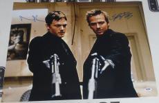 Norman Reedus & Sean Patrick Flanery Signed Boondock Saints 16x20 Photo PSA/DNA