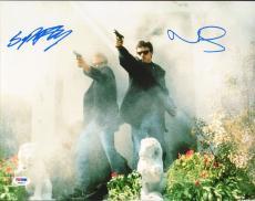 Norman Reedus & Sean Patrick Flanery Signed The Boondock Saints 11x14 Photo PSA
