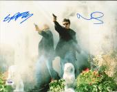 Norman Reedus & Sean Patrick Flanery Signed The Boondock Saints 11x14 Photo PSA