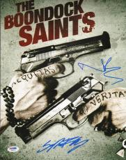 Norman Reedus & Sean Patrick Flanery Signed Boondock Saints 11x14 Photo PSA/DNA