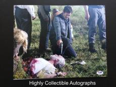 Norman Reedus Signed 11x14 Photo Autograph The Walking Dead Psa Dna Coa
