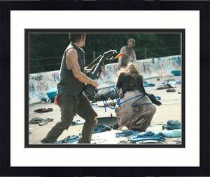Norman Reedus Signed 11x14 Photo Walking Dead Beckett Bas Autograph Auto L