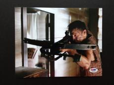 Norman Reedus Signed 8x10 Photo Autograph Psa Coa The Walking Dead Daryl