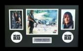 Norman Reedus Signed AMC The Walking Dead Framed Photo- Bazooka Aftermath