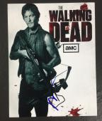 NORMAN REEDUS SIGNED AUTO THE WALKING DEAD 'DARYL DIXON' 8x10 PHOTO PROOF COA 6