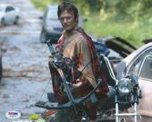 Norman Reedus Signed Auto'd 8x10 Photo Psa/dna Ac30117 The Walking Dead Daryl