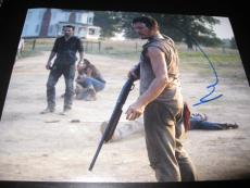 NORMAN REEDUS SIGNED AUTOGRAPH 8x10 PHOTO WALKING DEAD PROMO DARRYL DIXON COA C