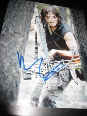 NORMAN REEDUS SIGNED AUTOGRAPH 8x10 PHOTO WALKING DEAD PROMO IN PERSON COA X1