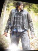 NORMAN REEDUS SIGNED AUTOGRAPH 8x10 PHOTO WALKING DEAD PROMO IN PERSON COA X2