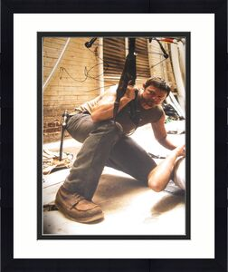 NORMAN REEDUS SIGNED AUTOGRAPH 8x10 PHOTO WALKING DEAD PROMO RARE COA NYC IN D