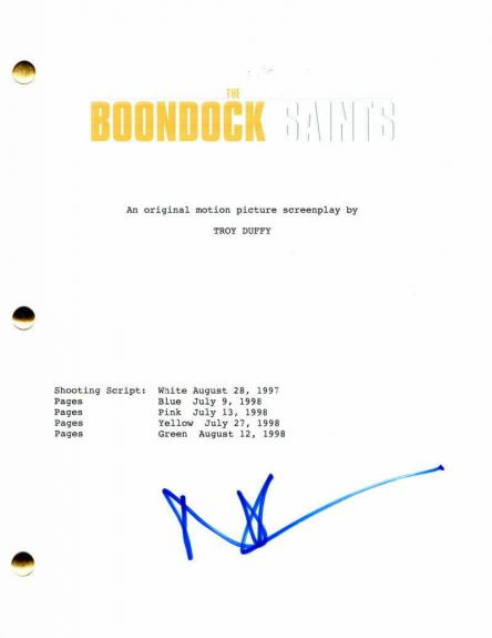Norman Reedus Signed Autograph The Boondock Saints Full Movie Script Daryl Dixon