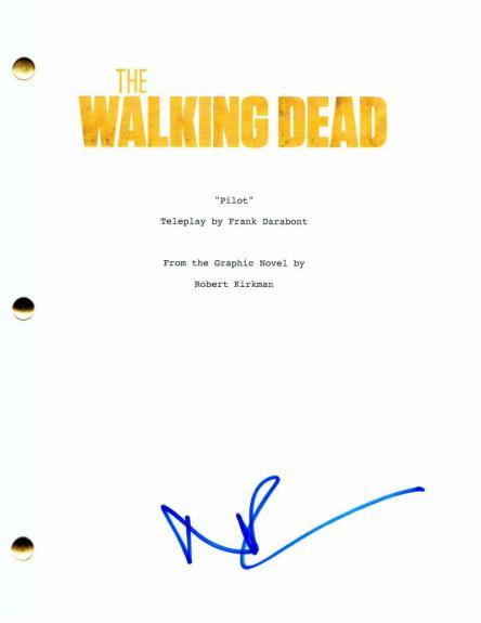 Norman Reedus Signed Autograph The Walking Dead Full Pilot Script - Daryl Dixon