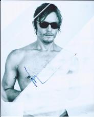 Norman Reedus Signed Autographed 8x10 Photo Daryl Dixon The Walking Dead 1A