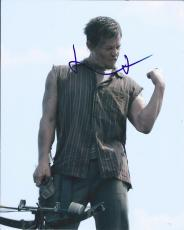 Norman Reedus Signed Autographed 8x10 Photo Daryl Dixon The Walking Dead 3