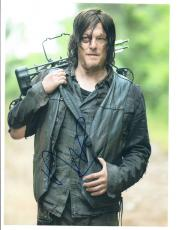 Norman Reedus Signed Autographed 8x10 Photo The Walking Dead Daryl Dixon COA VD
