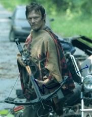 Norman Reedus Signed Autographed 8x10 Photo The Walking Dead Daryl Dixon COA