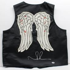 Norman Reedus Signed Autographed Authentic Vest The Walking Dead Daryl Psa/dna