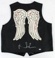 Norman Reedus Signed Autographed Authentic Vest The Walking Dead Psa/dna Ac32125