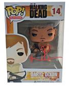 Norman Reedus Signed Autographed Daryl Dixon POP Figure JSA 14 The Walking Dead
