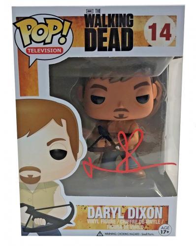 Norman Reedus Signed Autographed Daryl Dixon POP Figure JSA 14 The Walking Dead