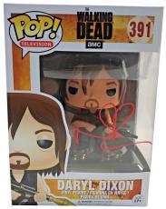 Norman Reedus Signed Autographed Daryl Dixon POP Figure JSA 391 The Walking Dead