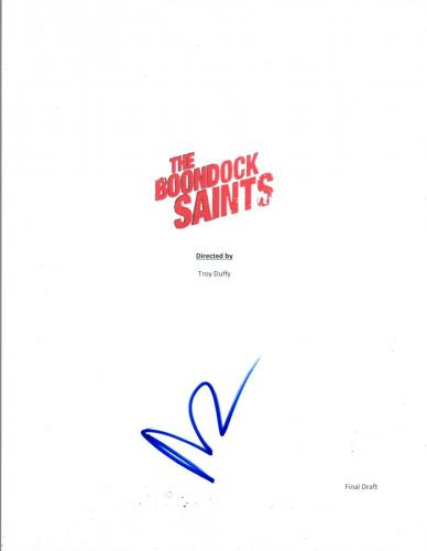 Norman Reedus Signed Autographed THE BOONDOCK SAINTS Movie Script COA