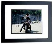 Norman Reedus Signed - Autographed The Walking Dead - Daryl Dixon 11x14 inch Photo - BLACK CUSTOM FRAME - Guaranteed to pass PSA/DNA or JSA