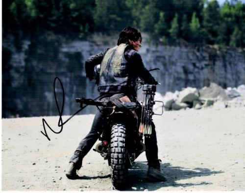 Norman Reedus Signed - Autographed The Walking Dead - Daryl Dixon 11x14 inch Photo - Guaranteed to pass PSA/DNA or JSA