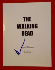 Norman Reedus Signed Autographed The Walking Dead Pilot Episode Script B