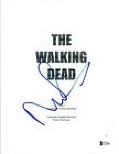 Norman Reedus Signed Autographed THE WALKING DEAD Pilot Episode Script BAS COA