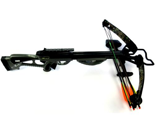 Norman Reedus Signed Bone Collector Black Full Size Crossbow - The Walking Dead