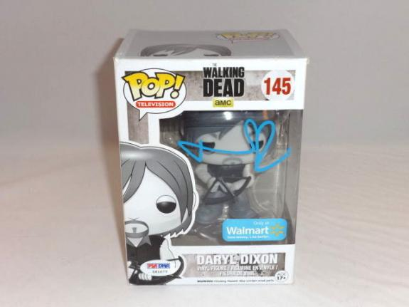 Norman Reedus Signed Daryl Dixon The Walking Dead Funko Pop Figure Psa Dna 2