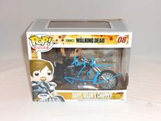Norman Reedus Signed Daryl Dixon's Chopper Funko Pop Figure Psa Dna