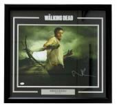 Norman Reedus Signed Framed The Walking Dead Daryl Dixon 16x20 Photo JSA