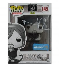 Norman Reedus Signed Funko Pop! Daryl Dixon Black & White Promo Edition #145 Vinyl Figure
