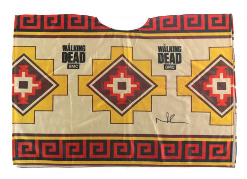 Norman Reedus Signed Officially Licensed The Walking Dead Poncho