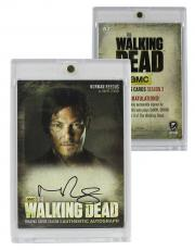 Norman Reedus Signed Officially Licensed The Walking Dead Season Three Cryptozoic Card