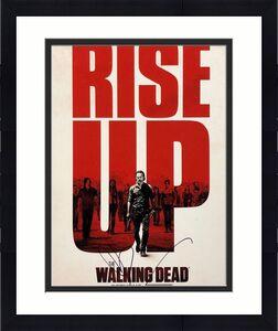 Norman Reedus Signed The Walking Dead 11x14 Photo BAS Beckett C16888