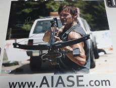 Norman Reedus Signed The Walking Dead 16x20 Photo PSA/DNA COA Poster Autograph 5