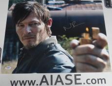 Norman Reedus Signed The Walking Dead 16x20 Photo PSA/DNA COA Poster Autograph 1