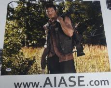 Norman Reedus Signed The Walking Dead 16x20 Photo PSA/DNA COA Poster Autograph 2