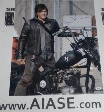 Norman Reedus Signed The Walking Dead 16x20 Photo PSA/DNA COA Poster Autograph 8