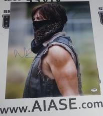 Norman Reedus Signed The Walking Dead 16x20 Photo PSA/DNA COA Poster Autograph 7