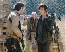 Norman Reedus signed The Walking Dead 8x10 photo W/Coa #8 Daryl Dixon
