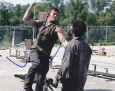 Norman Reedus Signed The Walking Dead 8x10 photo W/COA Daryl Dixon F