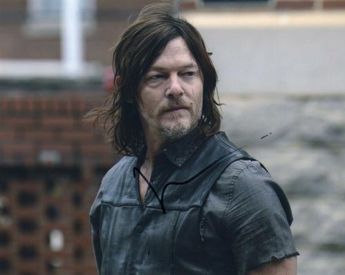 Norman Reedus Signed The Walking Dead 8x10 Photo w/COA TWD Daryl Dixon #2