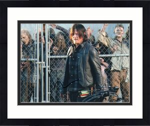 Norman Reedus Signed The Walking Dead 8x10 Photo w/COA TWD Daryl Dixon #5