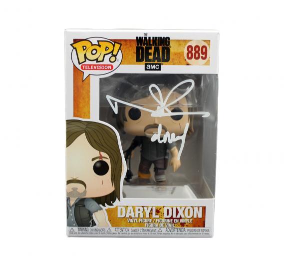 Norman Reedus Signed The Walking Dead Daryl Dixon #889 Funko Pop!