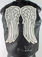 Norman Reedus Signed The Walking Dead Daryl Dixon Leather Vest PSA/DNA