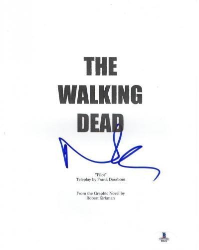 Norman Reedus Signed The Walking Dead Pilot Script Authentic Autograph Beckett